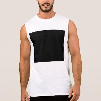 Guarde la calma y el foco en comprobar con minucio camisetas sin mangas
