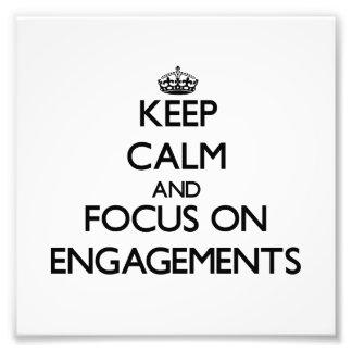 Guarde la calma y el foco en COMPROMISOS