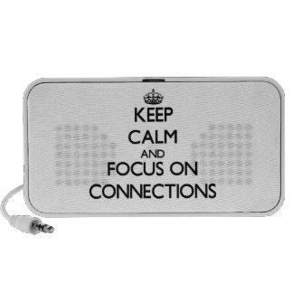 Guarde la calma y el foco en conexiones