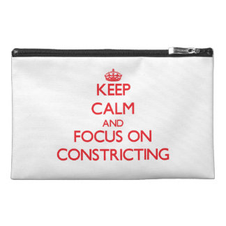 Guarde la calma y el foco en Constricting