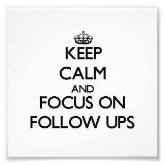 Guarde la calma y el foco en continuaciones