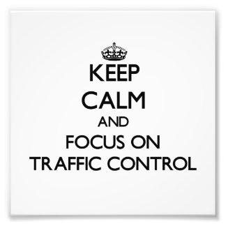 Guarde la calma y el foco en control de tráfico