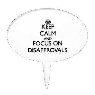 Guarde la calma y el foco en desaprobaciones