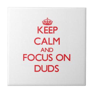 Guarde la calma y el foco en desastres