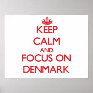 Guarde la calma y el foco en Dinamarca