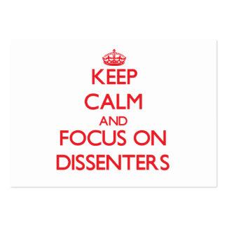 Guarde la calma y el foco en discordes