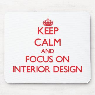 Guarde la calma y el foco en diseño interior