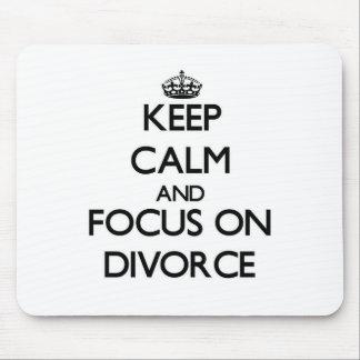Guarde la calma y el foco en divorcio