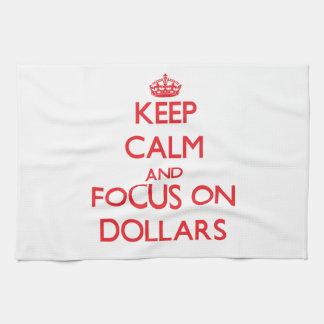 Guarde la calma y el foco en dólares