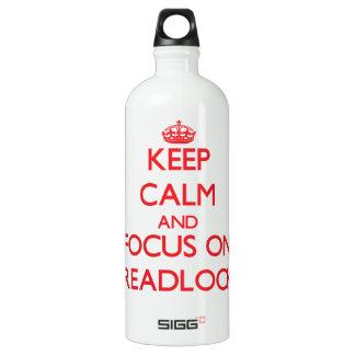 Guarde la calma y el foco en Dreadlocks