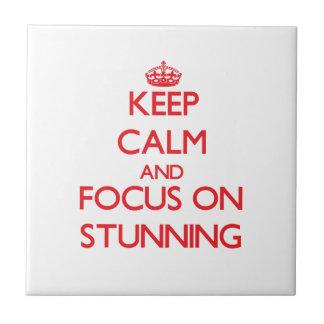 Guarde la calma y el foco en el atontamiento