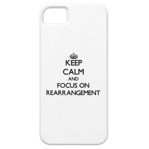 Guarde la calma y el foco en el cambio iPhone 5 Case-Mate funda