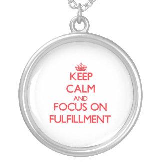 Guarde la calma y el foco en el cumplimiento grimpola