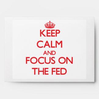 Guarde la calma y el foco en el FED