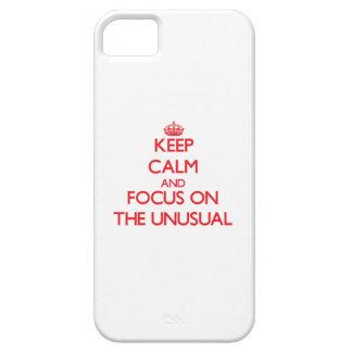 Guarde la calma y el foco en el inusual iPhone 5 Case-Mate protector