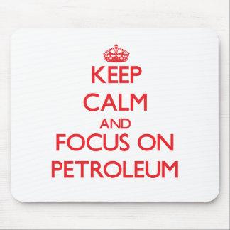 Guarde la calma y el foco en el petróleo