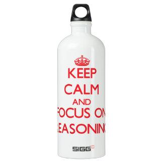 Guarde la calma y el foco en el razonamiento