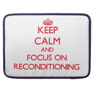 Guarde la calma y el foco en el reacondicionamient fundas macbook pro