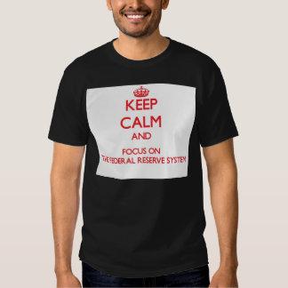 Guarde la calma y el foco en el sistema de Federal Camisas