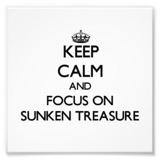 Guarde la calma y el foco en el tesoro hundido
