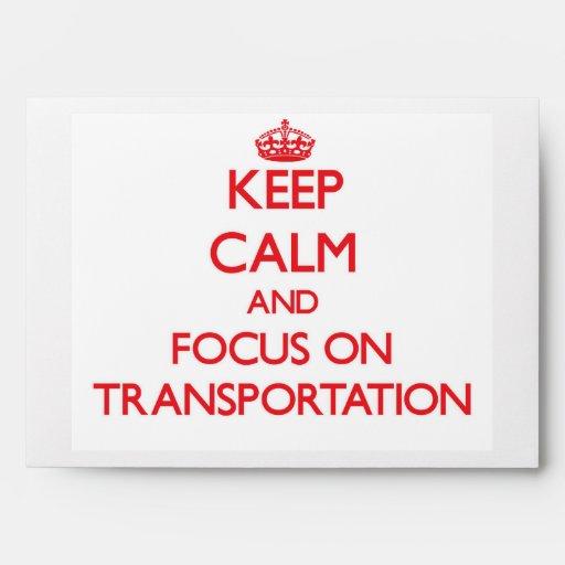 Guarde la calma y el foco en el transporte