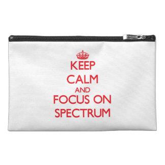 Guarde la calma y el foco en espectro