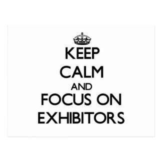 Guarde la calma y el foco en EXPOSITORES