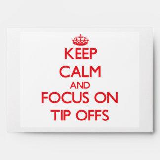 Guarde la calma y el foco en Extremidad-Offs
