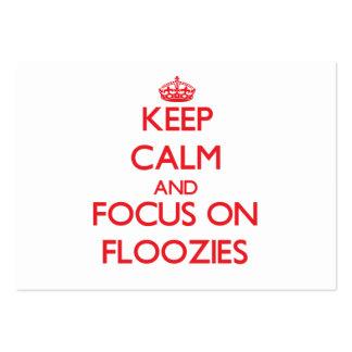Guarde la calma y el foco en Floozies
