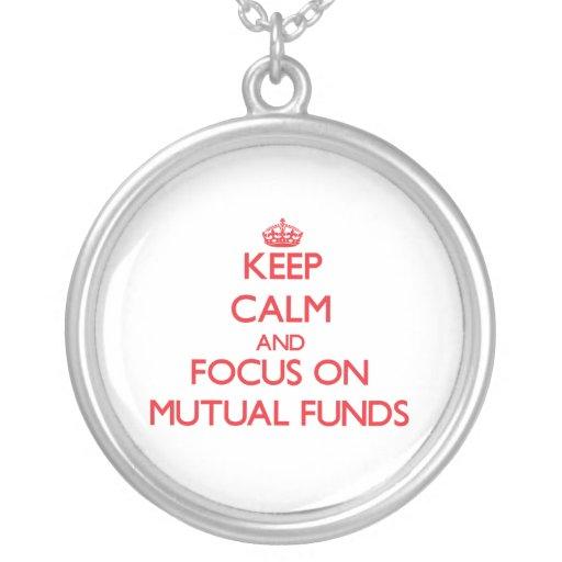 Guarde la calma y el foco en fondos mutuos joyerías