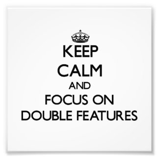 Guarde la calma y el foco en funciones dobles