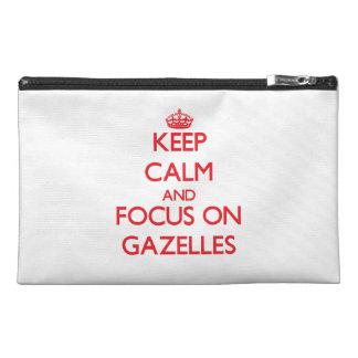 Guarde la calma y el foco en Gazelles
