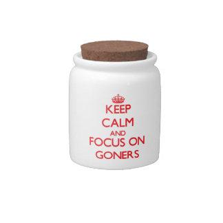 Guarde la calma y el foco en Goners