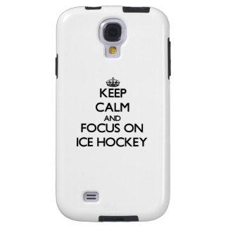 Guarde la calma y el foco en hockey sobre hielo