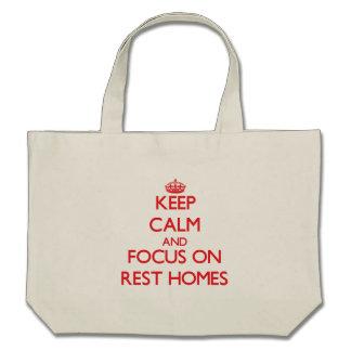 Guarde la calma y el foco en hogares de resto bolsa