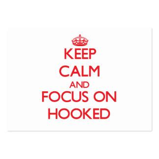 Guarde la calma y el foco en Hooked
