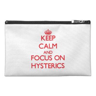Guarde la calma y el foco en Hysterics