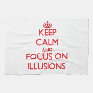 Guarde la calma y el foco en ilusiones