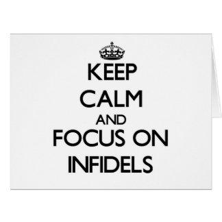Guarde la calma y el foco en infieles