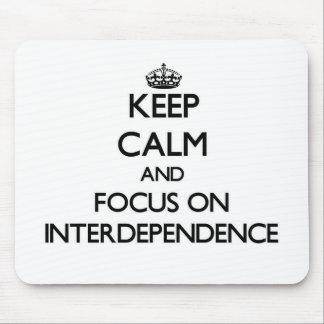 Guarde la calma y el foco en interdependencia