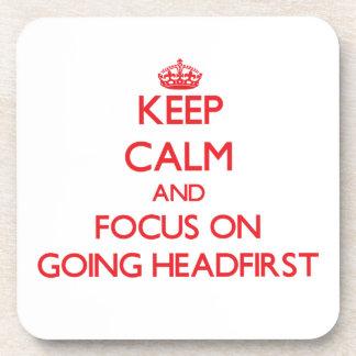 Guarde la calma y el foco en ir de cabeza