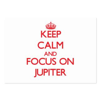 Guarde la calma y el foco en Júpiter