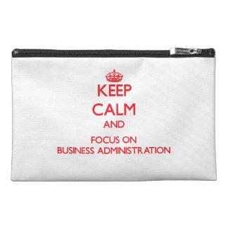 Guarde la calma y el foco en la administración de