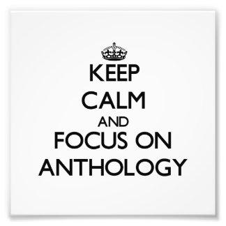 Guarde la calma y el foco en la antología