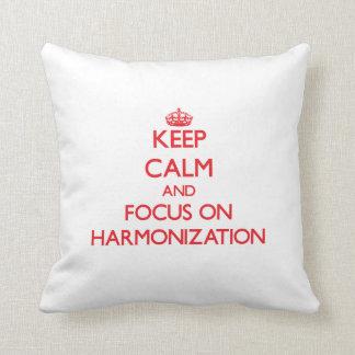 Guarde la calma y el foco en la armonización