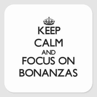 Guarde la calma y el foco en la bonanza