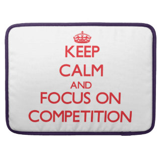 Guarde la calma y el foco en la competencia fundas macbook pro