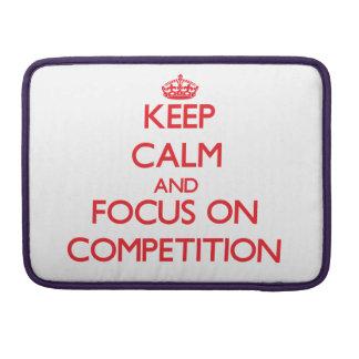 Guarde la calma y el foco en la competencia fundas para macbooks