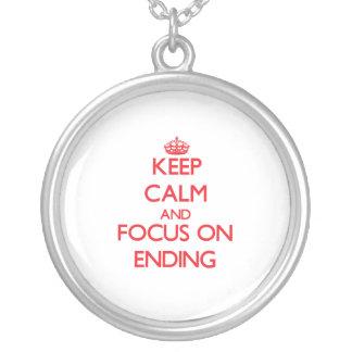 Guarde la calma y el foco en la CONCLUSIÓN