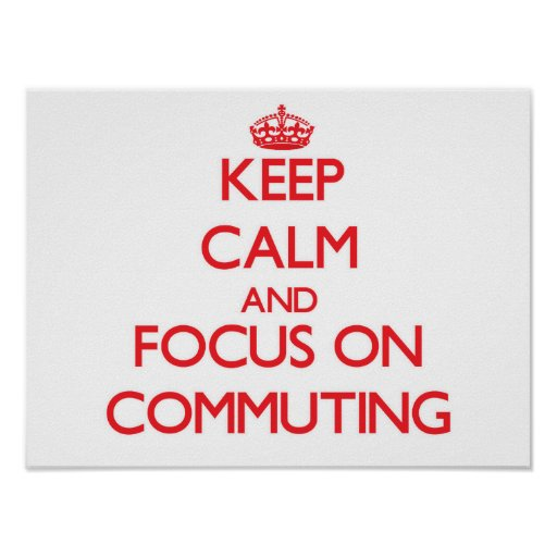 Guarde la calma y el foco en la conmutación poster